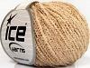 Cotton Boucle Fine Mørk Krem