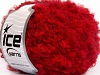 Boucle Mohair Worsted Red
