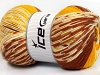 Jacquard Wool Yellow Cream Copper