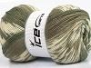 Jacquard Wool Khaki Krem Beige