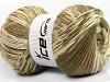 Jacquard Wool Khaki Cream Camel