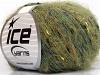 Sale Mohair-Wool Blend grønn