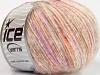 Sale Mohair-Wool Blend White Orange Lilac
