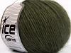Wool Cord Aran Khaki