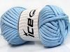 Tube Cotton Jumbo Lys blå