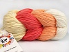 Art Color Cotton White Salmon Light Salmon Cream