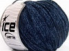 Chenille Light Navy Melange