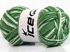 Natural Cotton Color Green Shades