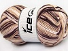 Natural Cotton Color Worsted White Maroon Cream