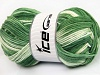 Natural Cotton Color Worsted Green Shades
