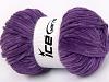 Chenille Baby Light Lavendel