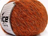 Alpaca Shine Orange gull Svart