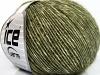 Baby Alpaca Merino Cotton Dark Green