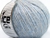 Merino Extrafine Cotton Light Grey Light Blue
