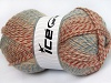 Puzzle Wool Salmon Shades Copper Camel Blue