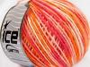 Wool Cord Light Pink Shades Orange Shades