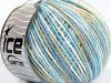 Wool Cord Light White Light Blue Beige