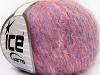 Kid Mohair Fine Pink Shades Lilac Shades