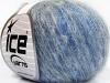 Kid Mohair Fine Grey Shades Blue Shades