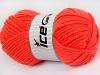 Wool Chunky Neon Orange