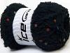 Puffy PomPom Black