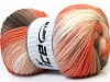 Magic Light White Orange Camel Brown