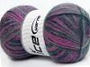 Angora Supreme Color Purple Navy Grey