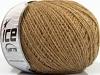 Wool Cord Fine Light Brown