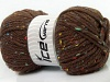 Wool Tweed Superbulky Brown
