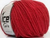 Superwash Wool Bulky Red