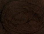50gr-1.8m (1.76oz-1.97yards) 100% Wool felt Fiber Content 100% Wool, Yarn Thickness Other, Brand Ice Yarns, Dark Brown, acs-928
