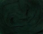 50gr-1.8m (1.76oz-1.97yards) 100% Wool felt Fiber Content 100% Wool, Yarn Thickness Other, Brand Ice Yarns, Dark Green, acs-935