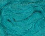 50gr-1.8m (1.76oz-1.97yards) 100% Wool felt Composição 100% Lã, Turquoise, Yarn Thickness Other, Brand Ice Yarns, acs-942