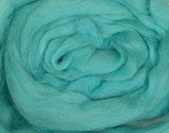 50gr-1.8m (1.76oz-1.97yards) 100% Wool felt Fiber Content 100% Wool, Yarn Thickness Other, Light Turquoise, Brand Ice Yarns, acs-943