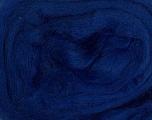 50gr-1.8m (1.76oz-1.97yards) 100% Wool felt Fiber Content 100% Wool, Yarn Thickness Other, Brand Ice Yarns, Blue, acs-946