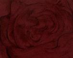 50gr-1.8m (1.76oz-1.97yards) 100% Wool felt Fiber Content 100% Wool, Yarn Thickness Other, Brand Ice Yarns, Burgundy, acs-952
