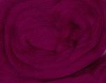 50gr-1.8m (1.76oz-1.97yards) 100% Wool felt Fiber Content 100% Wool, Yarn Thickness Other, Brand Ice Yarns, Fuchsia, acs-970
