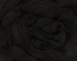50gr-1.8m (1.76oz-1.97yards) 100% Wool felt Composição 100% Lã, Yarn Thickness Other, Brand Ice Yarns, Black, acs-978