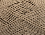 Fiber Content 50% Acrylic, 50% Cotton, Brand Ice Yarns, Camel, Yarn Thickness 2 Fine  Sport, Baby, fnt2-50102