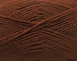 Fine Weight  Fiber Content 100% Acrylic, Brand Ice Yarns, Brown, Yarn Thickness 2 Fine  Sport, Baby, fnt2-24510
