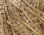Fiber Content 100% Polyester, Light Khaki, Brand Kuka Yarns, Yarn Thickness 3 Light  DK, Light, Worsted, fnt2-24756