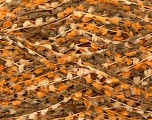 Fiber Content 100% Micro Fiber, Yarn Thickness Other, Orange, Khaki, Brand Ice Yarns, Cream, fnt2-27584