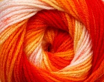 Fiber Content 100% Baby Acrylic, Yellow, Orange Shades, Light Pink, Brand Ice Yarns, Yarn Thickness 2 Fine  Sport, Baby, fnt2-29608