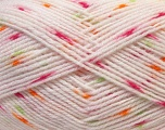 Fiber Content 100% Acrylic, Orange, Light Pink, Brand Ice Yarns, Green, Yarn Thickness 2 Fine  Sport, Baby, fnt2-33073