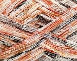 Fiber Content 100% Polyamide, Yarn Thickness Other, Orange, Brand Ice Yarns, Cream, Camel, Brown, fnt2-35956