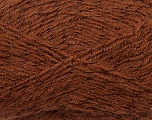 Fiber Content 70% Acrylic, 5% Lurex, 25% Angora, Brand Ice Yarns, Brown, Yarn Thickness 2 Fine  Sport, Baby, fnt2-36548