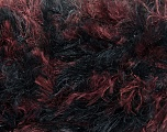 Kuitupitoisuus 88% Polymidi, 12% Polyesteri, Maroon, Brand Ice Yarns, Black, Yarn Thickness 5 Bulky  Chunky, Craft, Rug, fnt2-36751