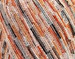 Fiber Content 100% Polyamide, Yellow, White, Yarn Thickness Other, Orange, Brand Ice Yarns, Brown, fnt2-37457