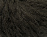 Fiber indhold 50% Akryl, 50% Uld, Brand Ice Yarns, Dark Brown, Yarn Thickness 5 Bulky  Chunky, Craft, Rug, fnt2-37874