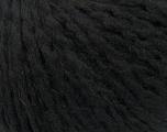 Fiber Content 50% Acrylic, 50% Wool, Brand Ice Yarns, Black, Yarn Thickness 4 Medium  Worsted, Afghan, Aran, fnt2-37886